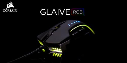 Corsair Mouse Glaive RGB Pro Aluminium