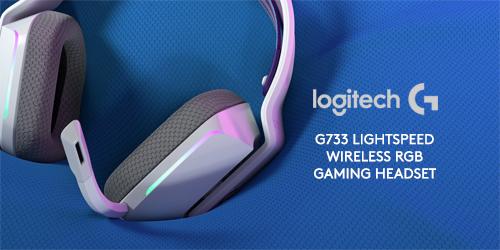 Logitech G733 LIGHTSPEED Wireless RGB Gaming Headset White