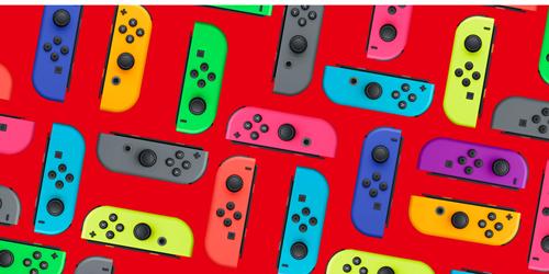Nintendo Switch JOY-CON L/R Neon Blue/Yellow