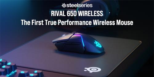 Steelseries MS Rival 650 Wireless