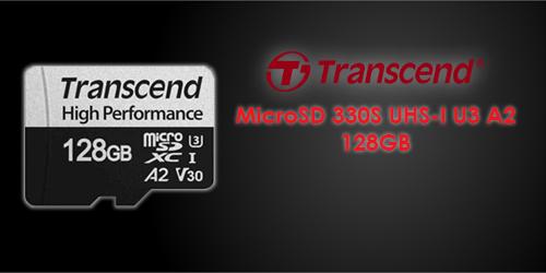 Transcend MicroSD 330S UHS-I U3 A2 128GB