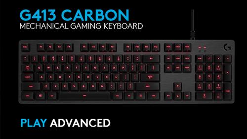 Logitech G413 Carbon Mechanical Gaming Keyboard